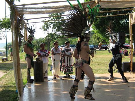 Actekų ritualinis šokis
